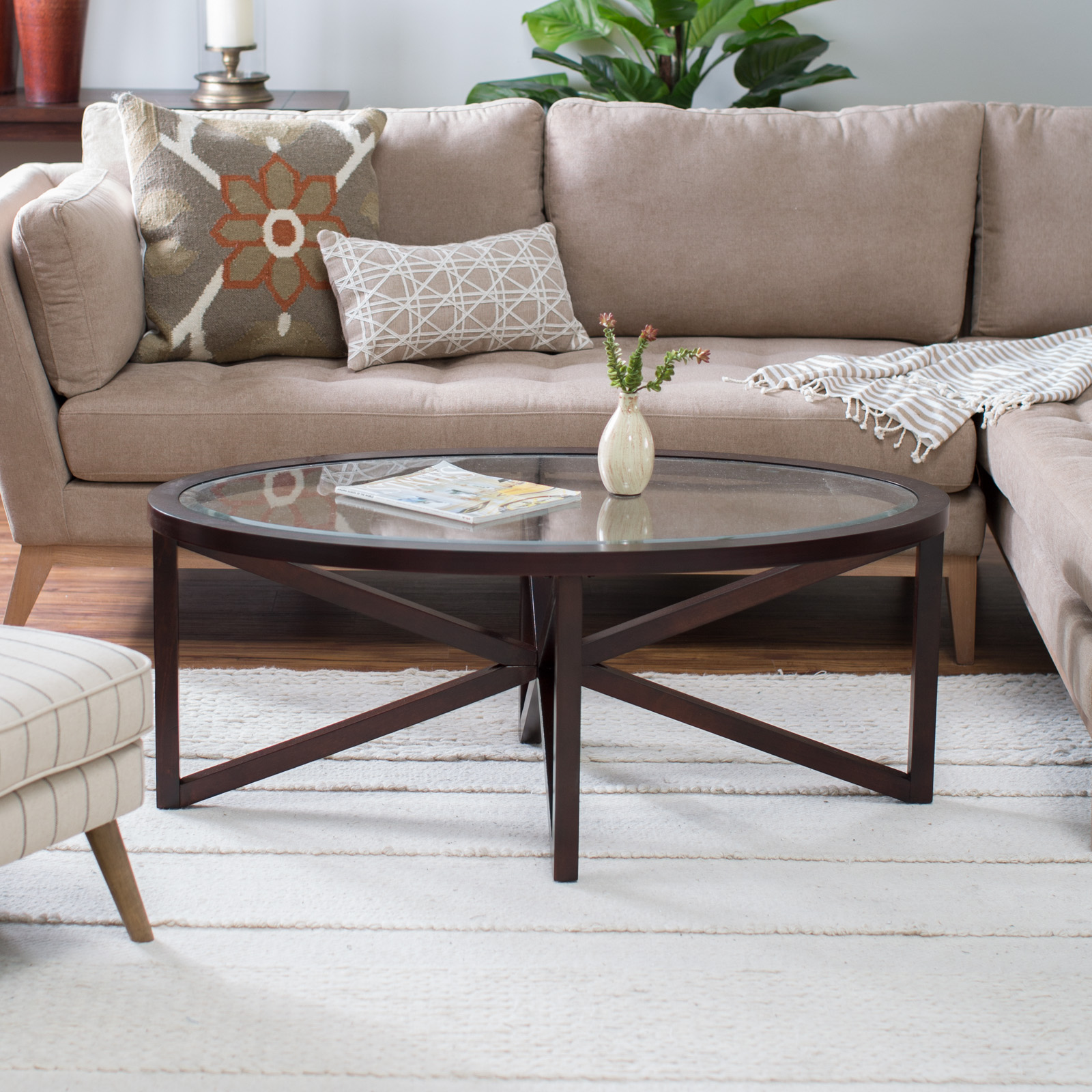 Oval Coffee Tables Hayneedle