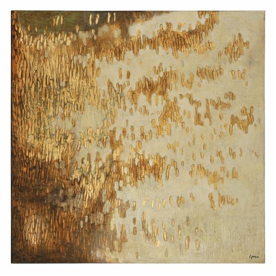 Gold Rush Canvas Print - 48W x 48H in.