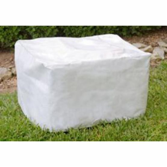 KoverRoos DuPont Tyvek White Cushion Storage Chest Cover