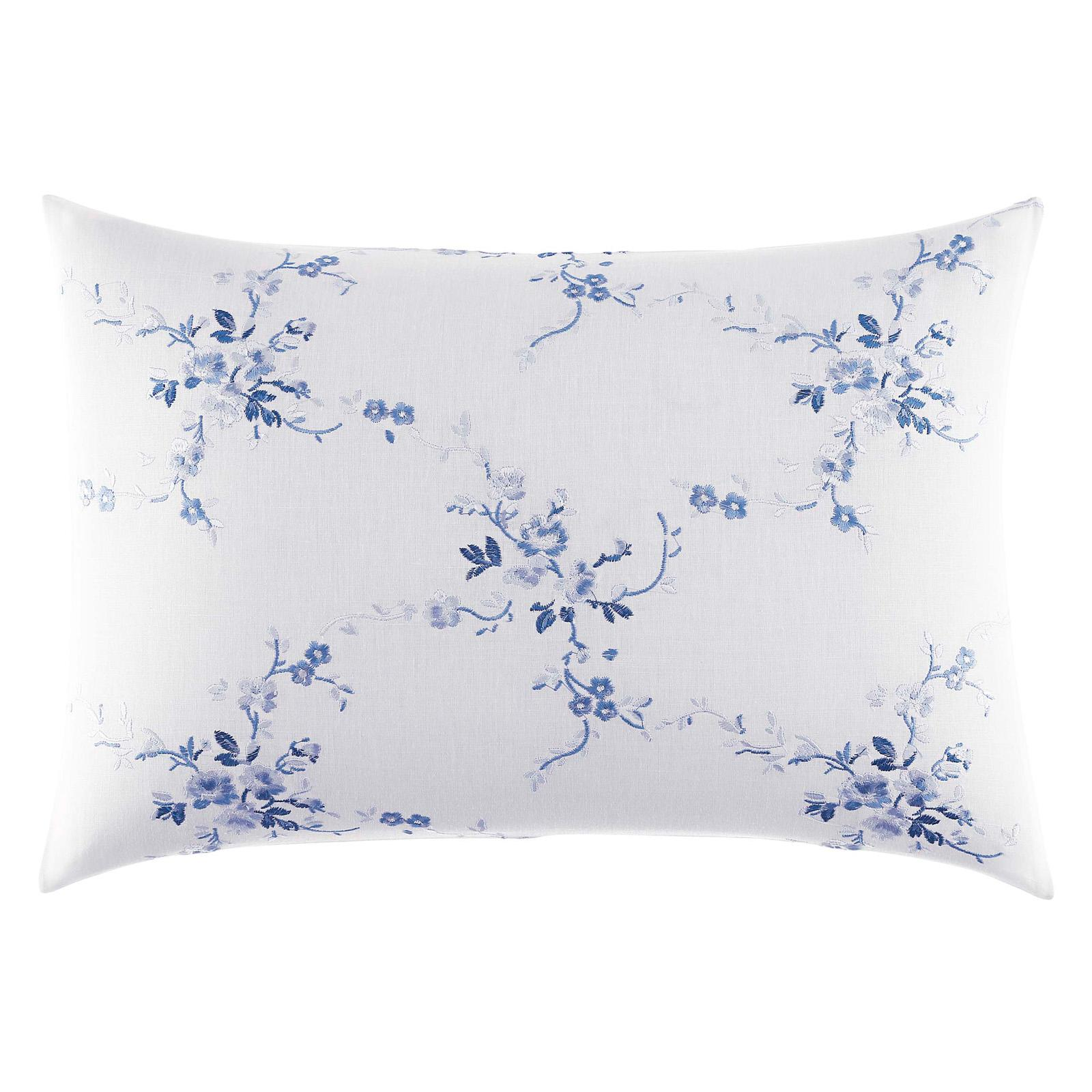 Laura Ashley Charlotte 14x20 Embroidered Breakfast Pillow - 211395