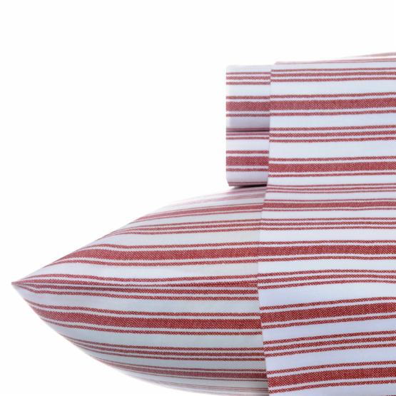 Nautica Coleridge Stripe Cotton Percale Sheet Set