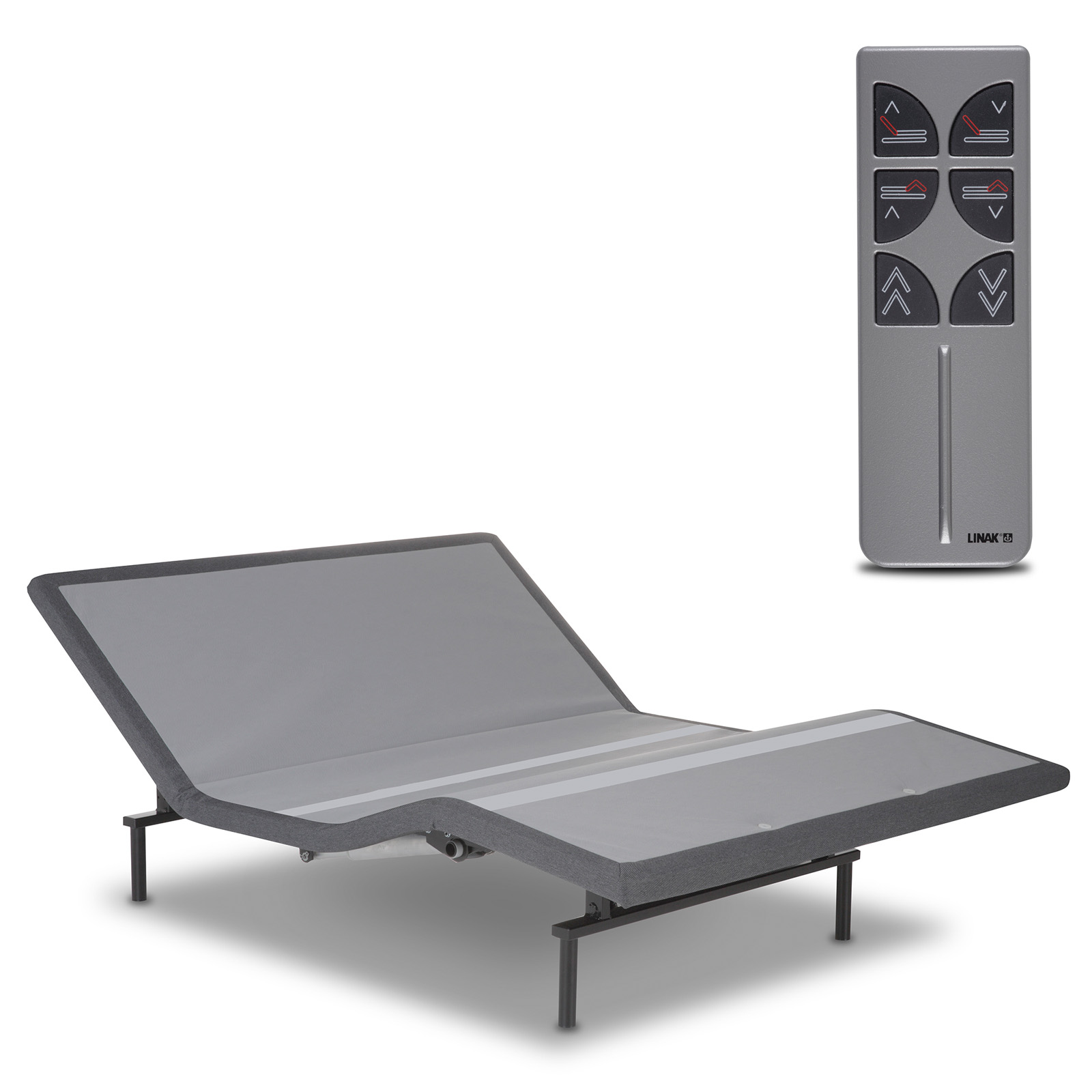 classic brands adjustable comfort adjustable bed base with wireless remote control hayneedle