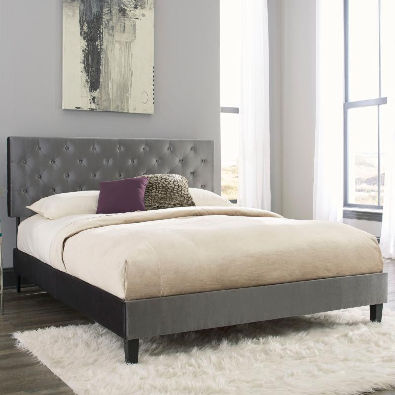 Fashion Bed Group Hayworth Complete Upholstered Panel Bed - B71G75