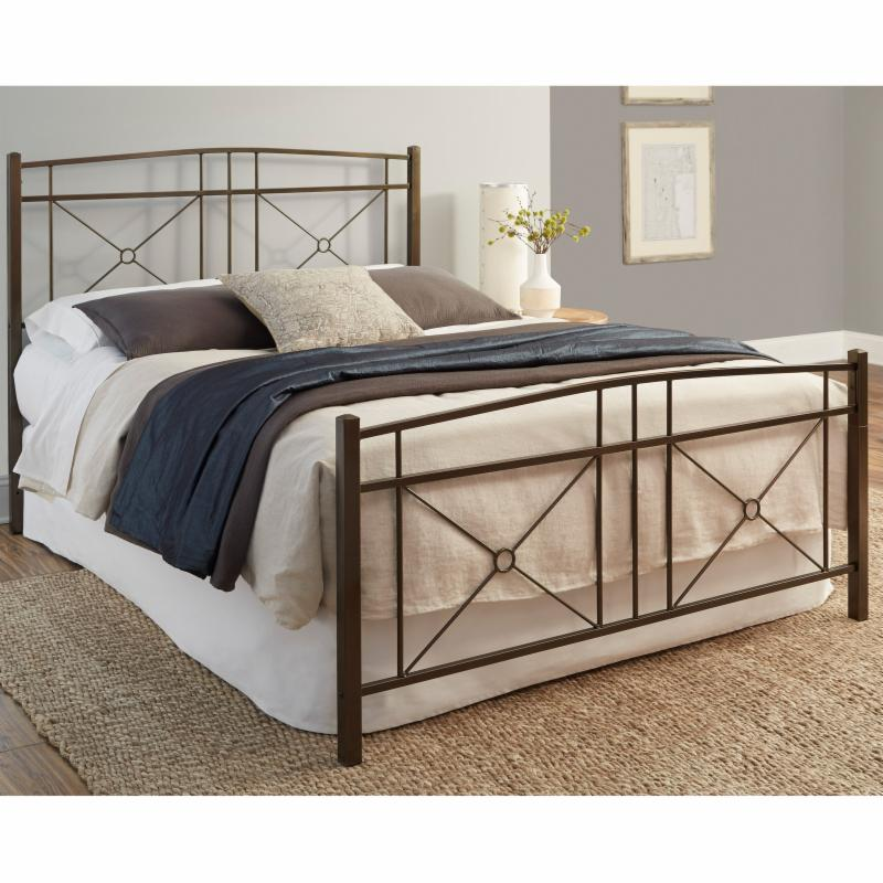 Fashion Bed Group Russett Complete Metal Bed - B11C64