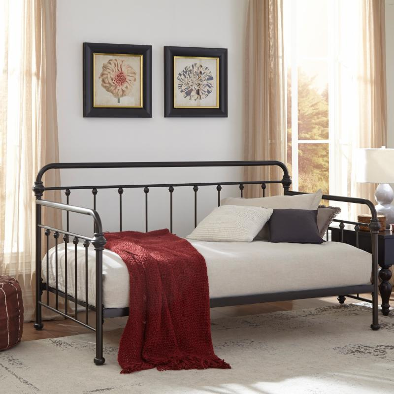 Fashion Bed Group York Complete Metal Daybed - B41F33