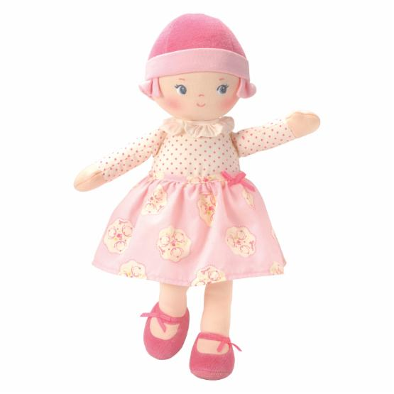 Corolle Rag 13 in. Doll - Soft Pink
