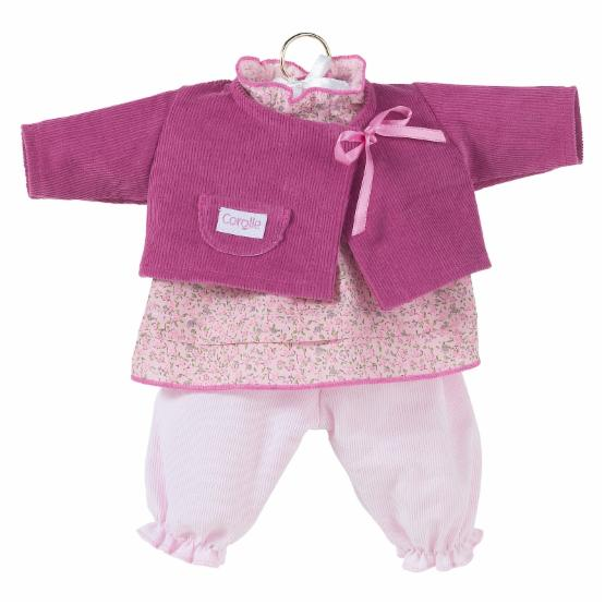 Corolle 17 in. Doll Fashions Pink Bloomer Set