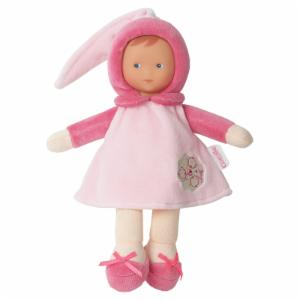 Corolle Barbicorolle Miss Pink Cotton Flower 9.5 in. Doll