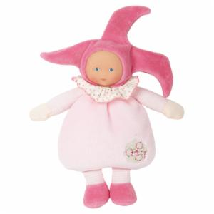 Corolle Barbicorolle Elf Pink Cotton Flower 9.5 in. Doll