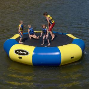 RAVE Sports 15 ft. Bongo Water Bouncer
