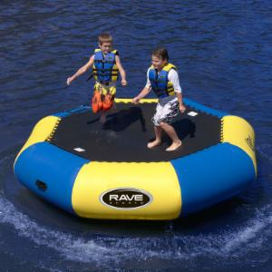 10 ft. RAVE Sports Bongo Water Bouncer Package