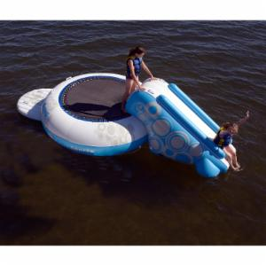 Rave Sports O-Zone XL Plus 12 ft. Water Bouncer with Slide