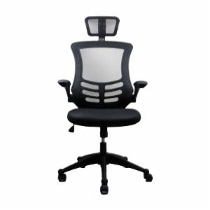 Techni Mobili RTA-80X5 Executive High Back Chair with Headrest