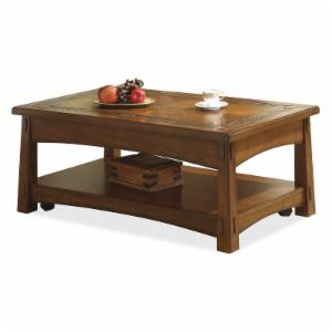 Riverside Craftsman Home Lift-Top Cocktail Table