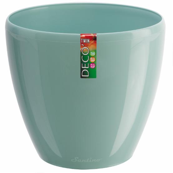 Deco 7.9 in. Self-Watering Planter