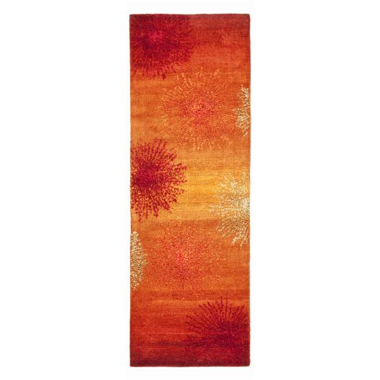 Safavieh Soho SOH712R Area Rug - Rust/Multi