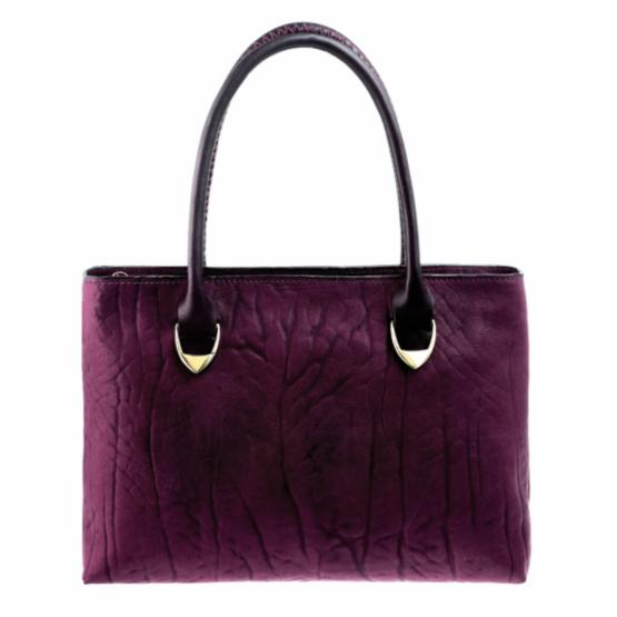 Hidesign by Scully Handbag - Aubergine