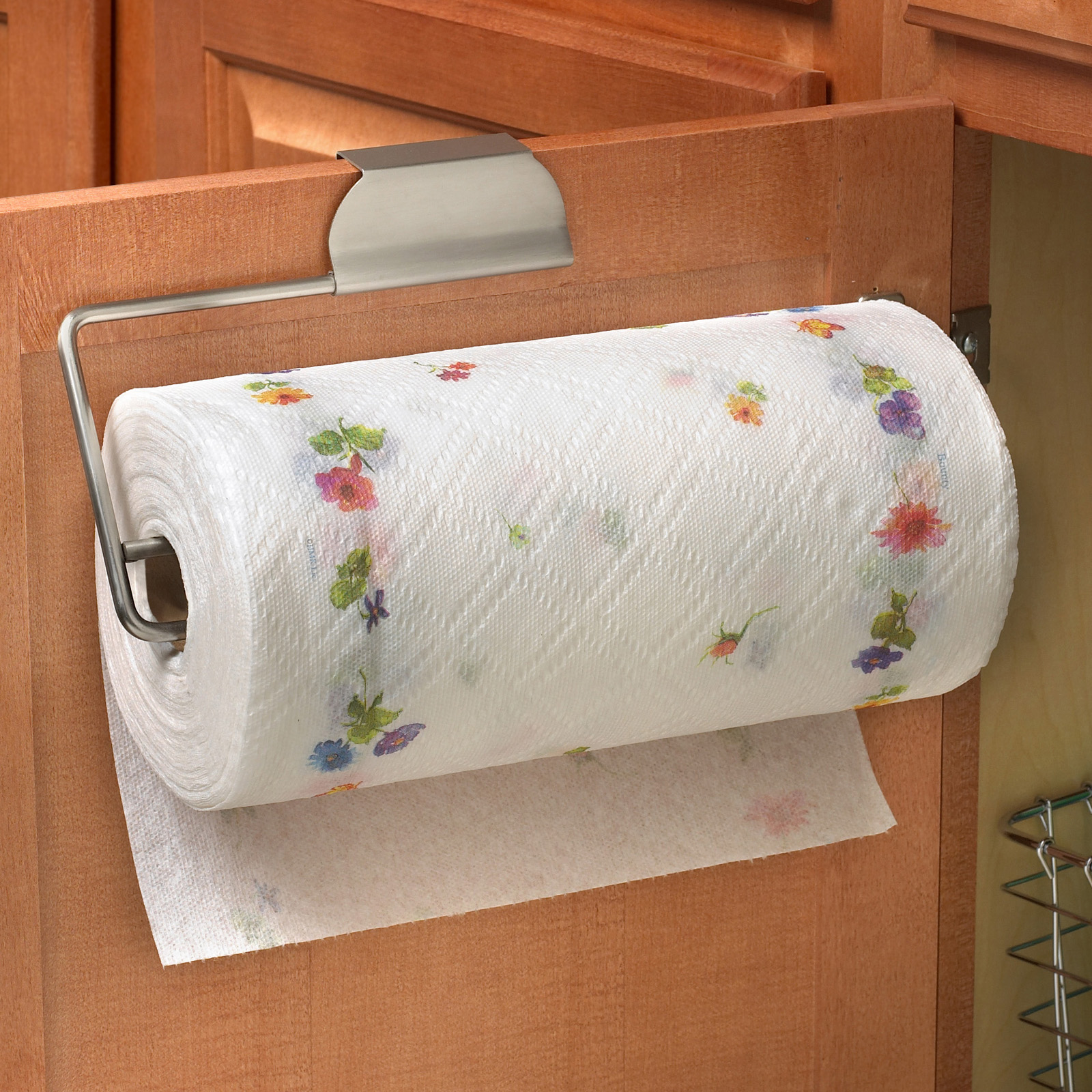 over the cabinet paper towel holder spectrum diversified the cabinet paper towel holder 24190