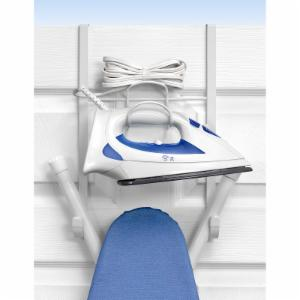 Spectrum Diversified 15 in. Over the Door Iron and Ironing Board Holder