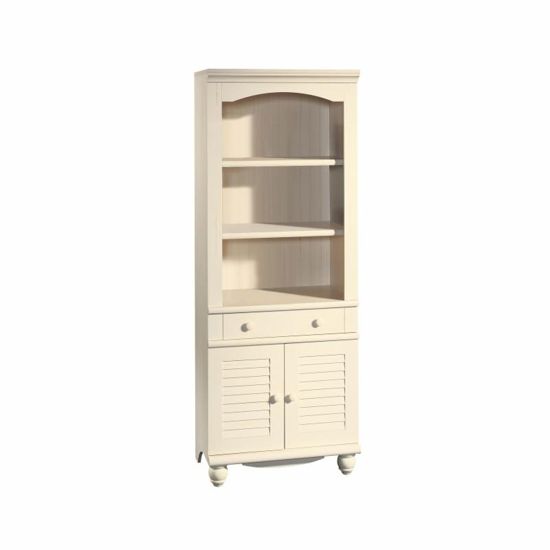 Sauder Office Furniture Harbor View Bookcase with Doors -...
