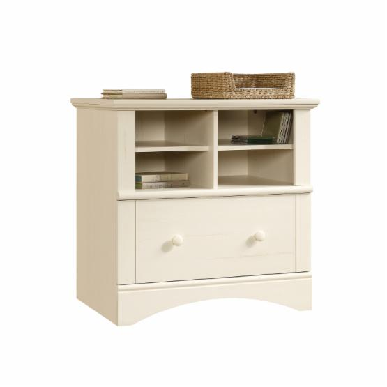Sauder Harbor View Lateral File Cabinet - Antique White