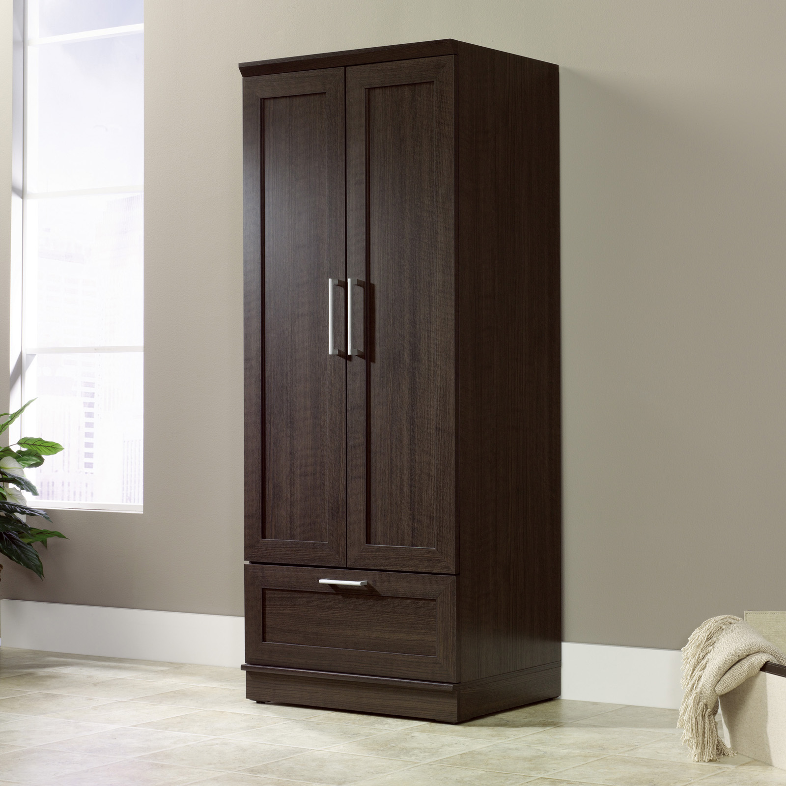 Sauder Homeplus Swing Out Storage Cabinet Pantry Cabinets at – Sauder Storage Cabinet with Drawer