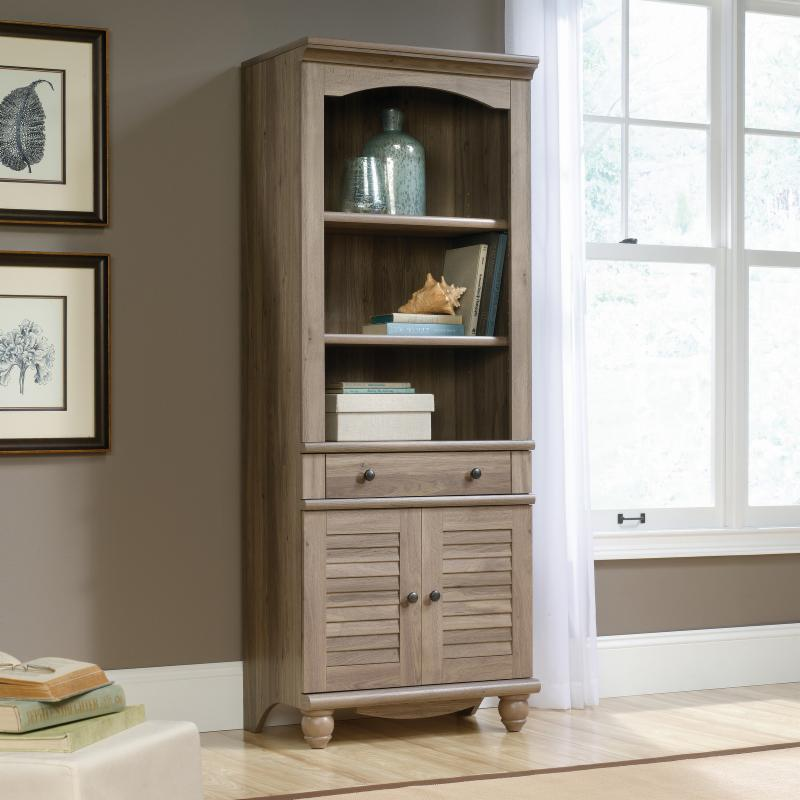 Sauder Office Furniture Harbor View Library Bookcase with...