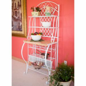 Southern Enterprises Trellis Bakers Rack