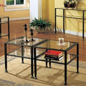 Black Bunch Metal Coffee Table