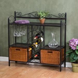 Southern Enterprises Celtic Bistro Wine Rack