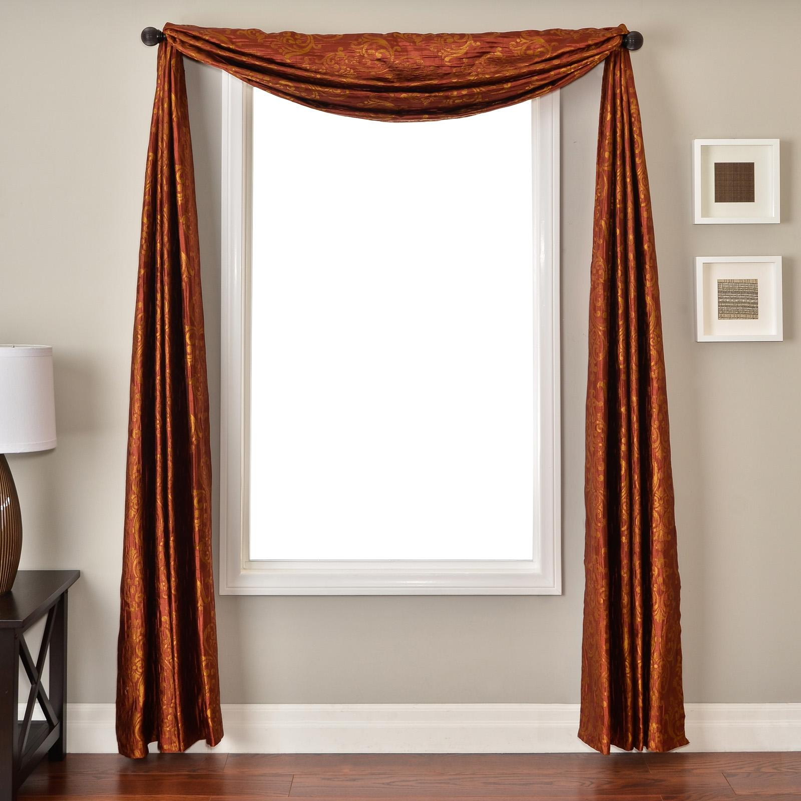 Softline Concord Window Scarf Champagne - CASTCHAMSC