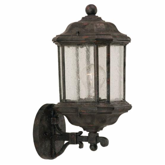 Sea Gull Kent Outdoor Hanging Wall Lantern - 18.5H in. Oxford Bronze