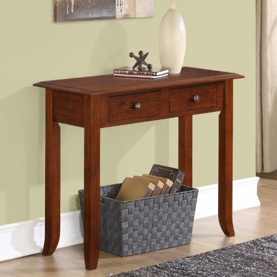 Simpli Home Devon 2 Drawer Console Table
