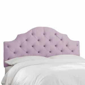 Skyline Tufted Arch Shantung Upholstered Headboard