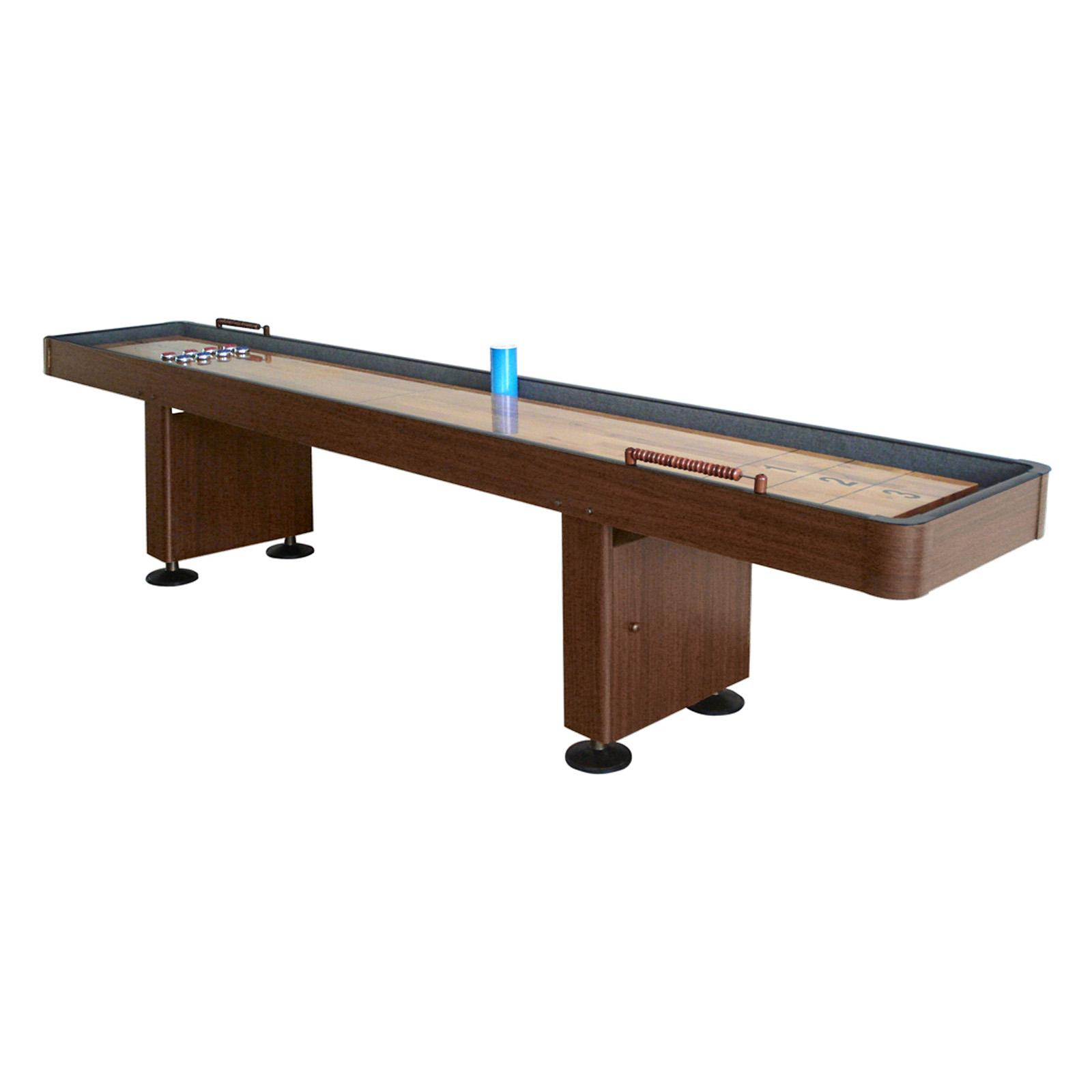 Hathaway Shuffleboard Table with Accessories - BG1205