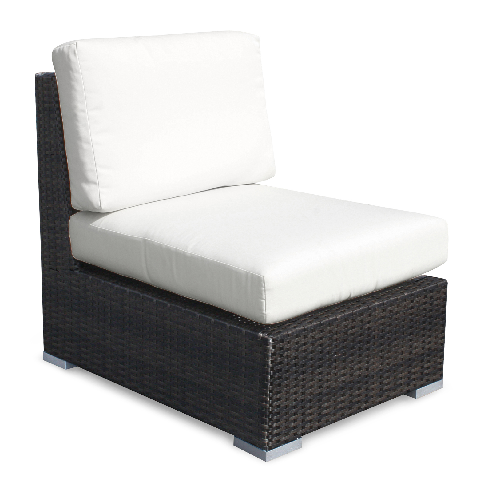Source Outdoor Lucaya All Weather Wicker Sectional Conversation