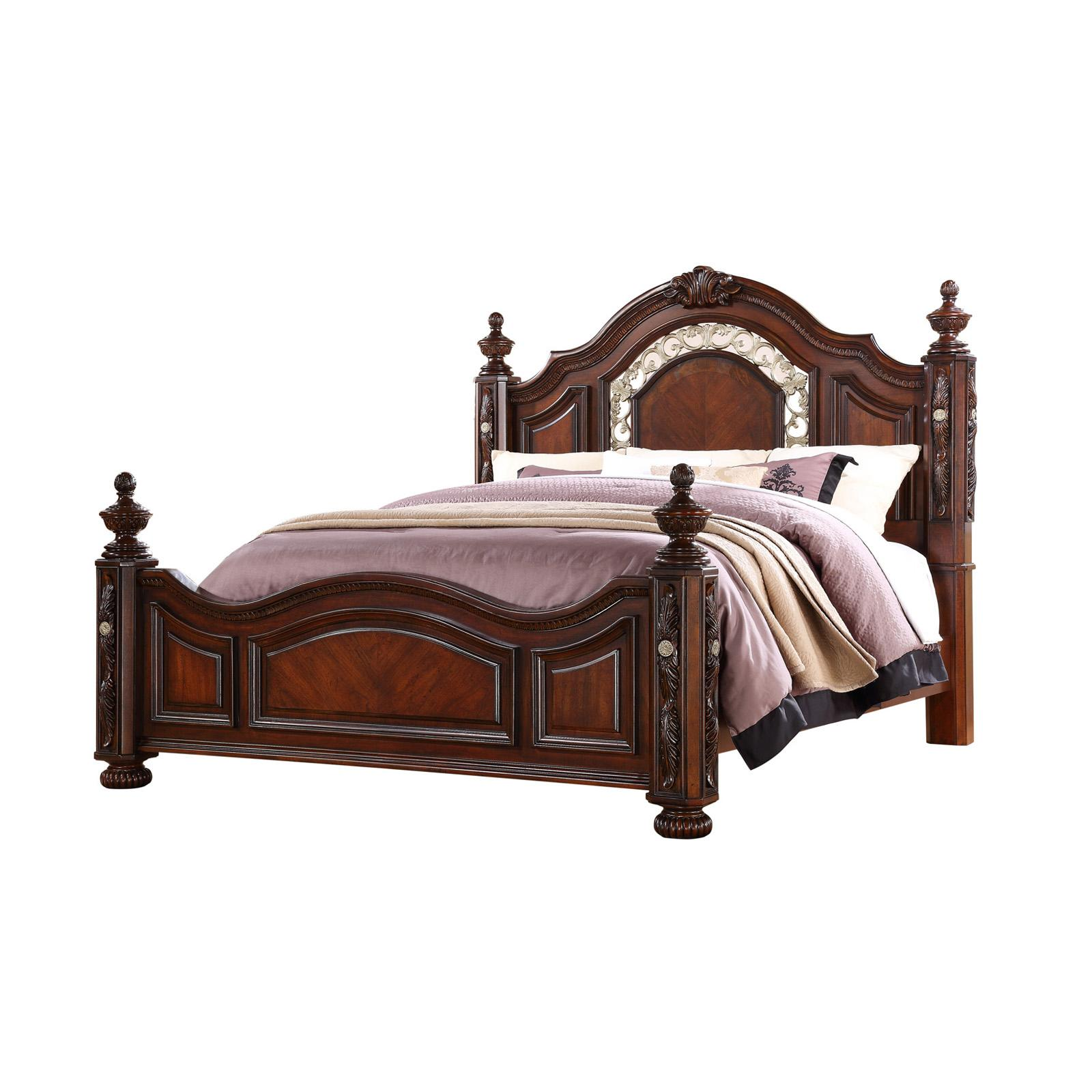 Oasis Home Verona Poster Bed - 5870-KINGBED