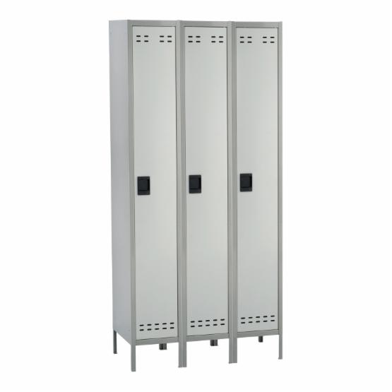 Safco 3 Column Single Tier Locker