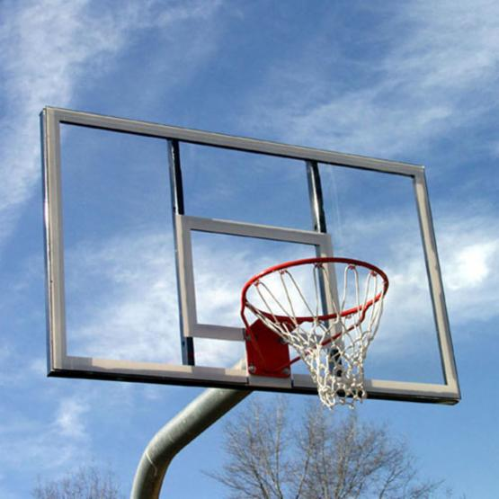 SportsPlay Standard Fiberglass Basketball Set