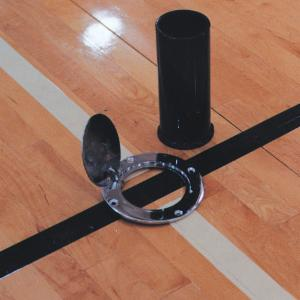 BSN Sports Floor Plate with Ground Sleeves