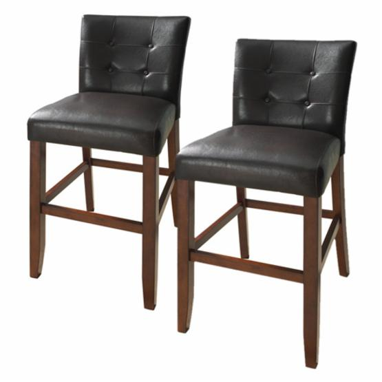 Steve Silver Montibello Counter Height Parsons Dining Chairs - Set of 2