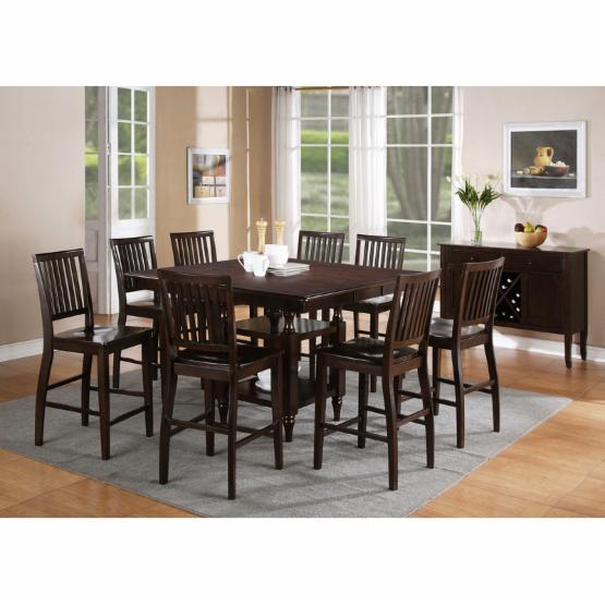 Steve Silver Candice 5 piece Counter Height Dining Set