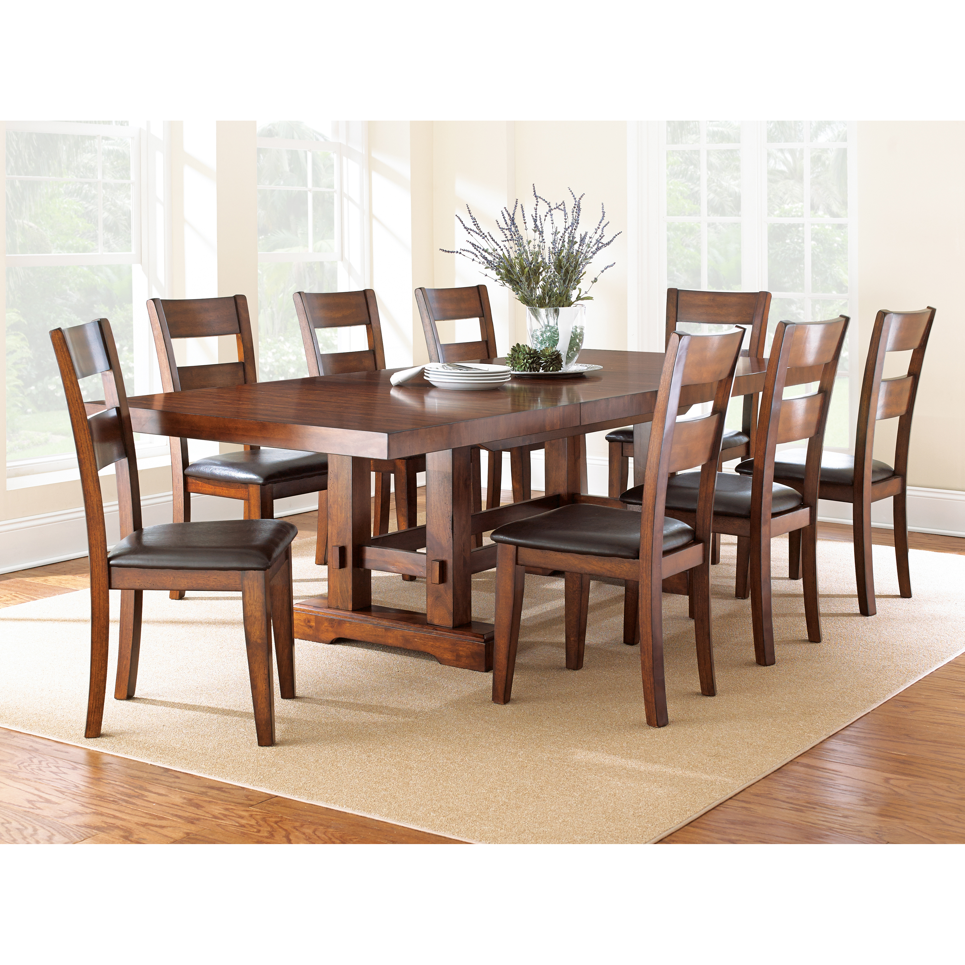 rustic dining table sets hayneedle