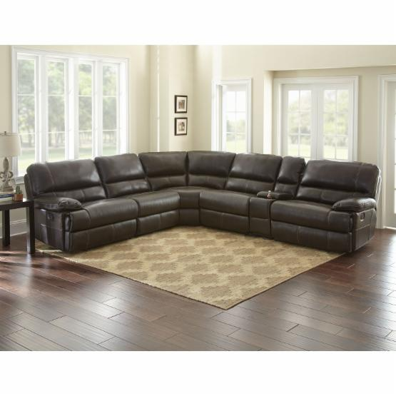 Steve Silver Co. Rollins 6 Piece Reclining Sectional