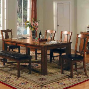 Steve Silver Lakewood 5-Piece Dining Table Set