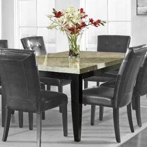 Steve Silver Monarch Marble Top Dining Table