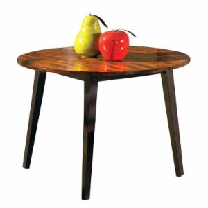 Steve Silver Abaco Round 42 in. Double Drop Leaf Dining Table