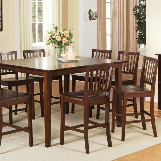 Steve Silver Branson 9 Piece Counter Height Dining Table Set