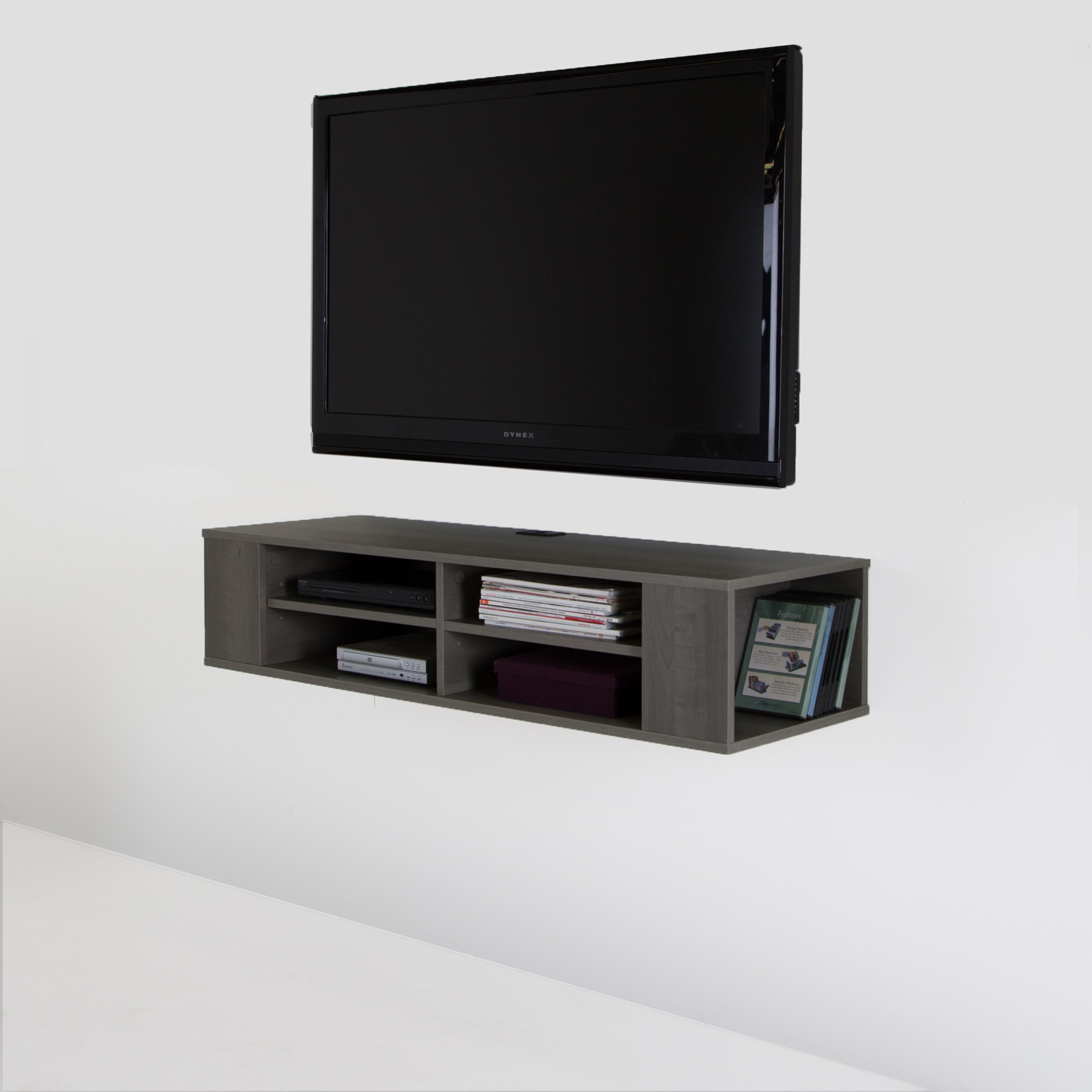 South Shore City Life 48 in Wall Mounted Media Console