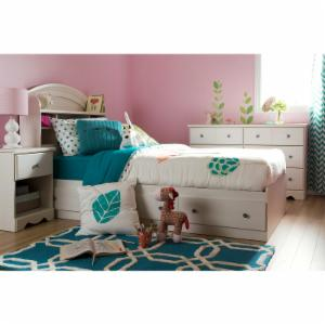 South Shore Country Poetry Mates Bookcase Storage Bed
